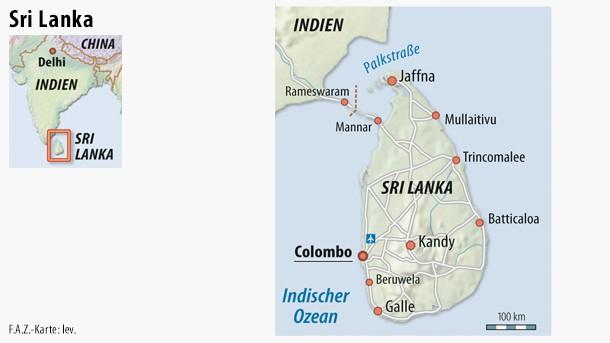 Sri Lanka Karte Zum Drucken.Bilderstrecke Zu In Sri Lanka Endet Die ära Von Präsident Rajapaksa