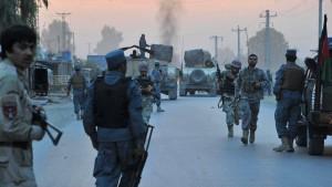 Taliban greifen Geheimdienstsitz an