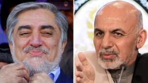 Abdullah und Ghani gehen in Stichwahl