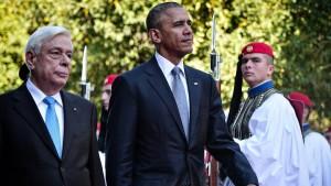 Obama verspricht Griechen weitere Hilfe