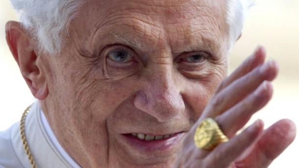 Jahreswechsel - Papst Benedikt XVI