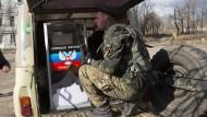 Separatisten bestreiten Aufrüstung durch Russland