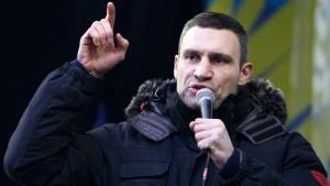 Klitschko setzt auf Steinmeier