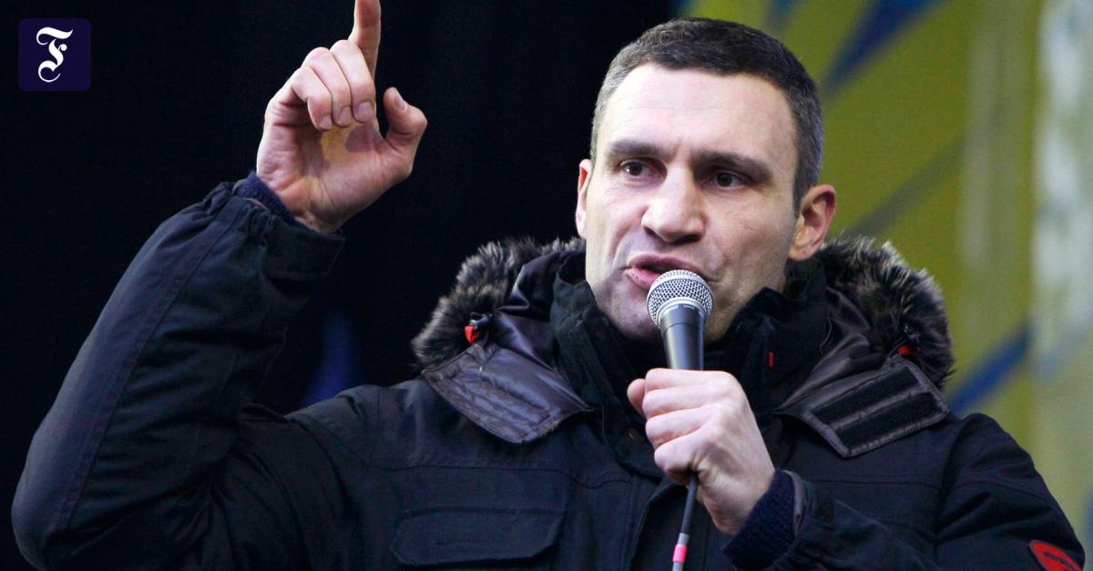 Klitschko Politik