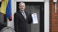 Assange fordert seine Freiheit ein
