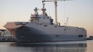 Frankreich liefert bald Kriegsschiff an Russland