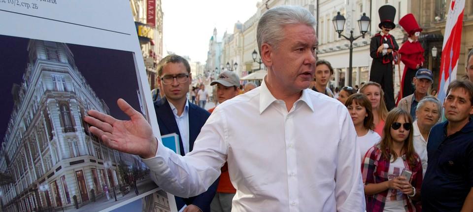 Russland Moskau Wählt Neuen Bürgermeister Europa Faz