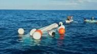 Vor der griechischen Küste sind zwei Boote mit Flüchtlingen gesunken.