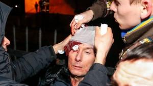 Früherer Minister bei Protesten verletzt
