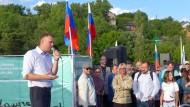 Beim Bürger: Der russische Oppositionelle Alexej Nawalnyj in Kaluga