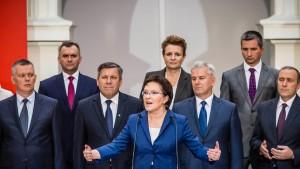 Neue Ministerpräsidentin Kopacz präsentiert ihr Kabinett