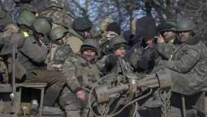 Armee zieht Truppen aus Debalzewe ab