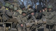 Ukrainische Kämpfer verlassen Debalzewe