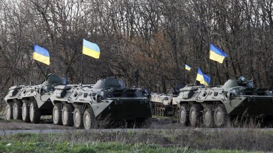 """Kiew meldet Start des """"Anti-Terror-Einsatzes"""" im Osten"""
