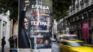 Syriza liegt fünf Prozent vor den Konservativen