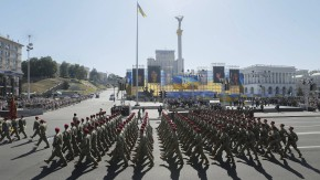 Ukrainians mark Independence Day