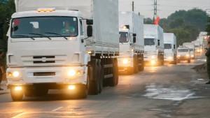 Kiew und Moskau einigen sich auf Inspektion des Hilfskonvois