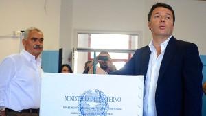 Denkzettel für Renzi