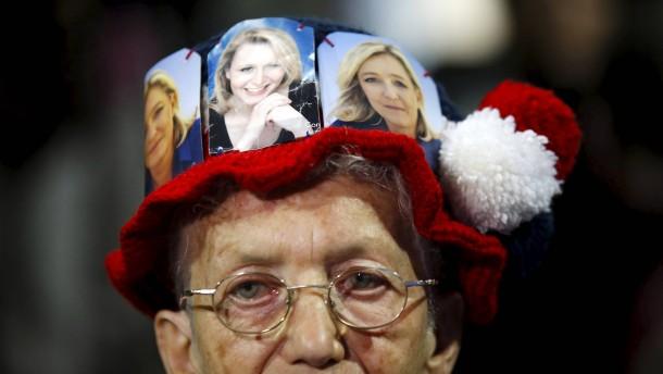 Le Pens könnten Sieg in Regionalwahlen verpassen