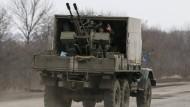 Gefechte zwischen Armee und Separatisten