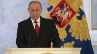 Putin: Wir brauchen Freunde
