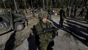 Litauen führt Wehrpflicht wieder ein