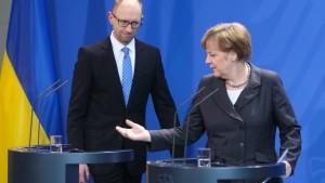 Merkel lobt Reformen in der Ukraine