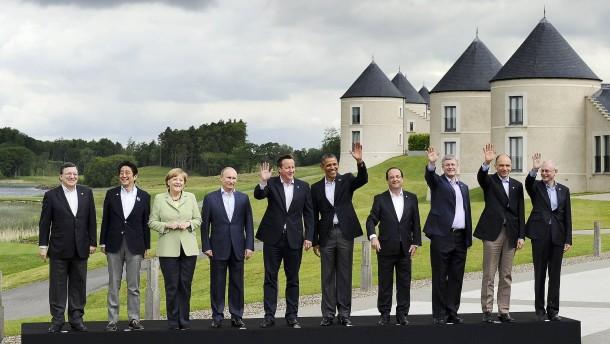 Steinmeier stellt Russland Rückkehr in G8 in Aussicht
