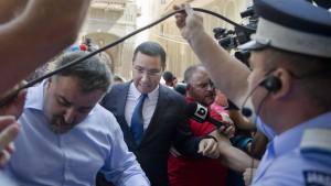 Anklage gegen Ministerpräsident Ponta beschlossen