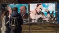 Mehrheit gibt Putin Schuld am Ukraine-Konflikt