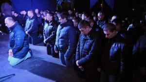 Mitglieder der Berkut-Polizei wegen Massenmordes verhaftet