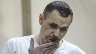 Oleg Senzow, als er 2015 zu 20 Jahren Lagerhaft verurteilt wurde.