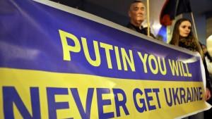 Ukraine will weiter für Befreiung der Krim kämpfen