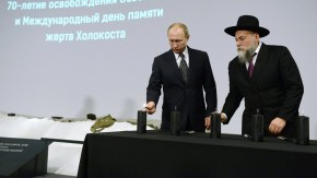 Vladimir Putin attends International Holocaust Remembrance Day in