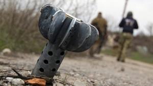 Kiew beklagt Zunahme der Kampfhandlungen