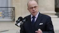 Bernard Cazeneuve soll als Ministerpräsident die letzten Monate der Amtszeit von Präsident Hollande begleiten.