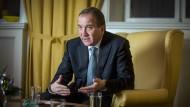 Der schwedische Ministerpräsident Stefan Löfven im Interview mit der Frankfurter Allgemeinen Zeitung.