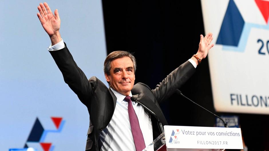François Fillon bei den Vorwahlen der Republikaner