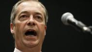 Farage wirft Europa moralische Feigheit vor