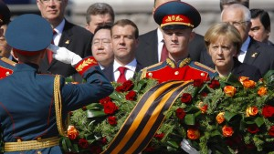 Merkel kommt nicht zur Moskauer Siegesparade