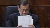 Mariano Rajoy will am Samstag wieder spanischer Ministerpräsident werden.
