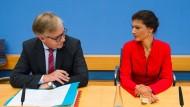 Bartsch und Wagenknecht werden Spitzenkandidaten