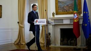 Passos Coelho will Koalition retten