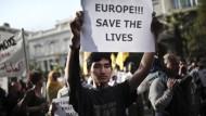 Grüne fordern Verdoppelung der Flüchtlingshilfe