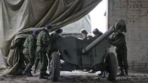Politiker fordern Waffen für die Ukraine