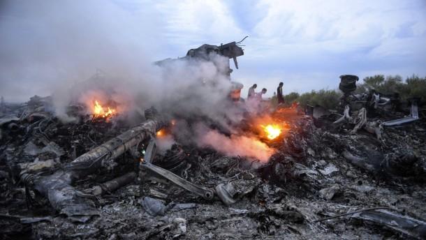 """Abschuss von MH17: """"Die russische Führung ist schuld"""""""
