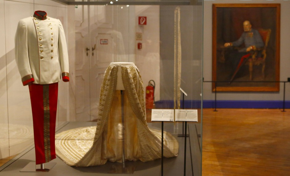 Auch die Galauniform des Kaisers ist der Nachwelt erhalten.