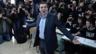 Prognosen: Klarer Sieg für Linksbündnis Syriza