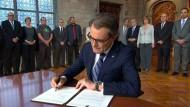 Katalanen wollen bald über ihre Unabhängigkeit abstimmen