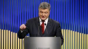 Kiew will Kontrolle über Krim und Rebellengebiete zurück
